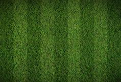 Campo de hierba del balompié Imagen de archivo libre de regalías