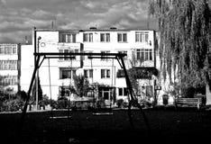Campo de jogos abandonado Fotografia de Stock Royalty Free