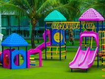 Campo de jogos ao ar livre fotografia de stock royalty free