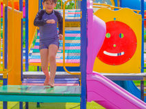 Campo de jogos ao ar livre Fotos de Stock