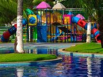 Campo de jogos ao ar livre Imagem de Stock