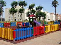Campo de jogos colorido Imagem de Stock