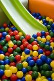 Campo de jogos colorido fotografia de stock
