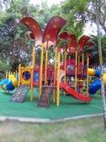 Campo de jogos colorido para crianças Imagem de Stock Royalty Free