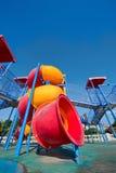Campo de jogos colorido para o divertimento Fotografia de Stock Royalty Free