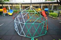 Campo de jogos da criança na escola primay Fotografia de Stock Royalty Free