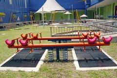 Campo de jogos das crianças. Fotos de Stock