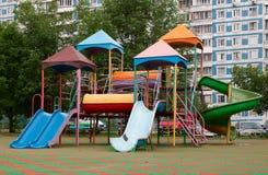 Campo de jogos das crianças. Foto de Stock Royalty Free