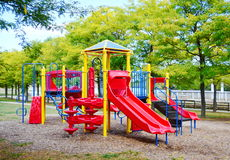 Campo de jogos 2 das crianças Foto de Stock Royalty Free