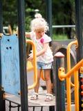 Campo de jogos 2 das crianças Fotografia de Stock