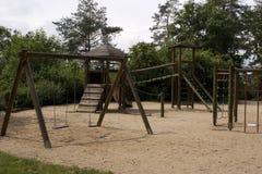 Campo de jogos das crianças Foto de Stock Royalty Free
