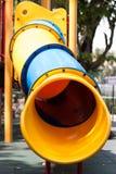 Campo de jogos das crianças no parque Foto de Stock Royalty Free