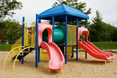 Campo de jogos das crianças Foto de Stock