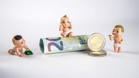 Campo de jogos do dinheiro Foto de Stock Royalty Free