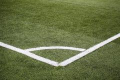 Campo de jogos do futebol, futebol, artificial Imagem de Stock