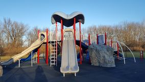 Campo de jogos do parque Fotos de Stock Royalty Free