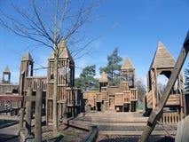 Campo de jogos do parque de Crafton Fotografia de Stock