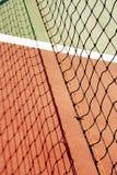 Campo de jogos do tênis Fotografia de Stock Royalty Free