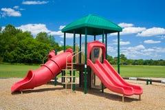 Campo de jogos em um dia ensolarado Imagem de Stock Royalty Free