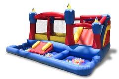 Campo de jogos inflável Foto de Stock