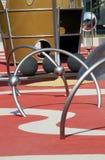 Campo de jogos moderno dos miúdos Foto de Stock Royalty Free
