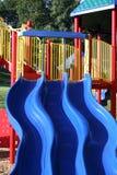Campo de jogos na queda Imagens de Stock Royalty Free