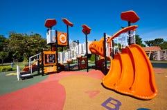 Campo de jogos no jardim Imagens de Stock Royalty Free