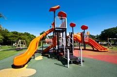 Campo de jogos no jardim Imagem de Stock Royalty Free