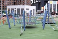 Campo de jogos novo do trampolim Fotos de Stock