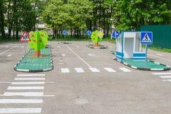 campo de jogos para a criança Foto de Stock Royalty Free