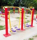 Campo de jogos para o exercício Foto de Stock