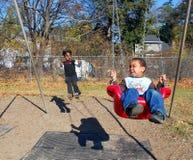 Campo de jogos pré-escolar fotos de stock royalty free