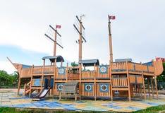 Campo de jogos sem crianças Imagem de Stock Royalty Free