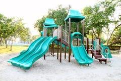 Campo de jogos sem crianças Fotografia de Stock