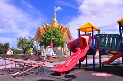 CAMPO DE JOGOS, TAILÂNDIA Imagem de Stock Royalty Free