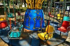 Campo de jogos vazio Fotografia de Stock Royalty Free