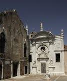 Campo de l'Abazia, Venecia Fotos de archivo