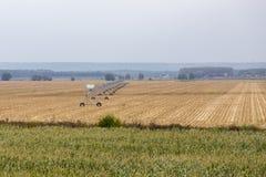 Campo de la cosecha Fotos de archivo