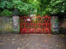 Campo de la fresa en Liverpool Fotos de archivo