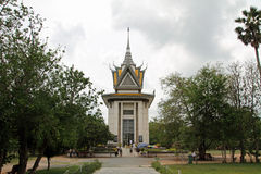 Campo de la matanza en Phnom Penh foto de archivo