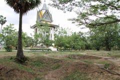 Campo de la matanza en Phnom Penh imágenes de archivo libres de regalías