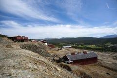 Campo de la mina de cobre, Foldall Fotos de archivo libres de regalías