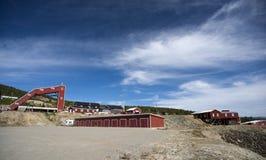 Campo de la mina de cobre, Foldall Foto de archivo