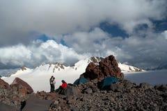 Campo de la montaña fotos de archivo libres de regalías