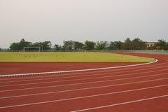 Campo de la pista fotos de archivo