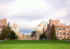 Campo de la universidad Imagen de archivo