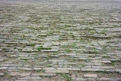 Campo de ladrillo - la ciudad Prohibida, Pekín, China Imagen de archivo libre de regalías