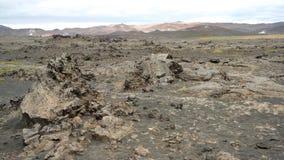 Campo de lava Imagen de archivo