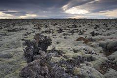 Campo de lava Imágenes de archivo libres de regalías