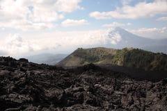 Campo de lava de Pacaya Foto de Stock